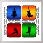 Yoga espectacular impresiones
