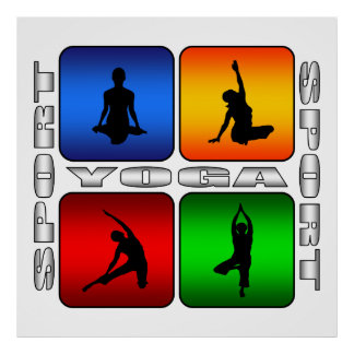 Yoga espectacular póster