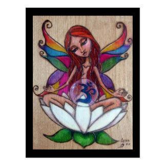 Yoga Fairy Postcard