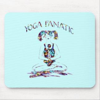 Yoga Fanatic Mouse Pad