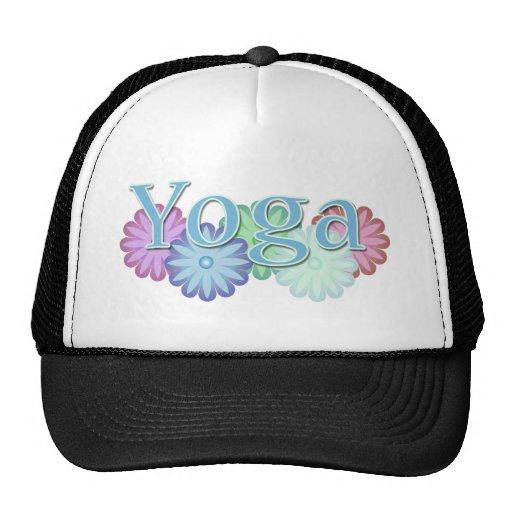 Yoga floral gorros bordados