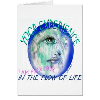 Yoga Flow Greeting Card