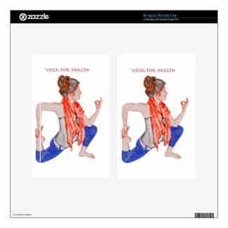 Yoga for Health Kindle Fire Skins
