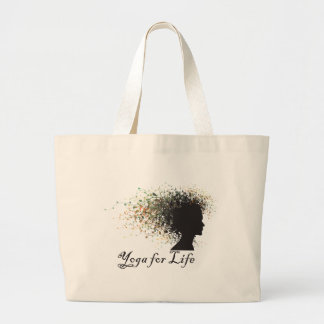 Yoga For Life Gift Large Tote Bag