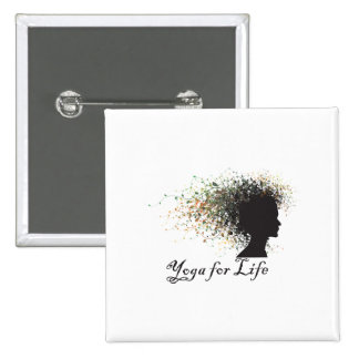 Yoga For Life Pin