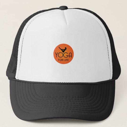 Yoga For Life Trucker Hat