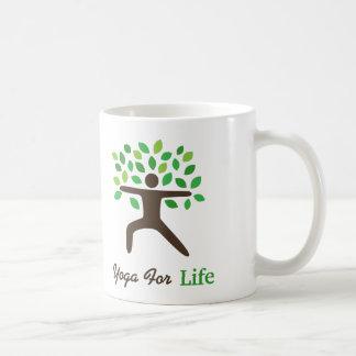 Yoga For Life, Warrior Pose, Tree Coffee Mug
