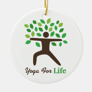 Yoga For Life, Warrior Pose, Tree Ornament