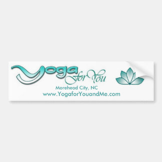 Yoga for You Bumper Stickers