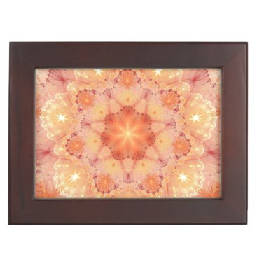 Yoga fractal keepsake box