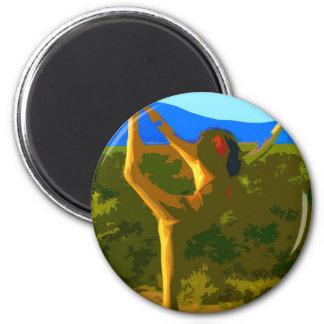 Yoga Freedom Magnet