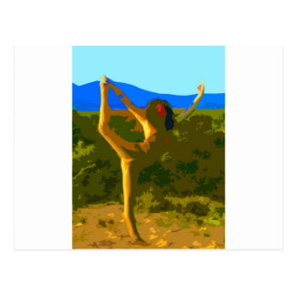 Yoga Freedom Post Card