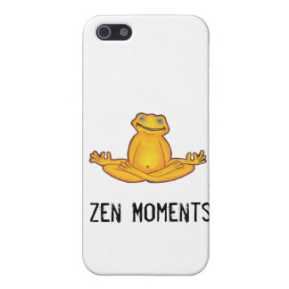 Yoga Frog - I Love Yoga,Moments of Zen iPhone SE/5/5s Cover