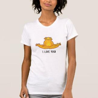 Yoga Frog - I Love Yoga T-Shirt
