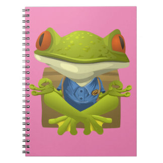 Yoga Frog Notebook