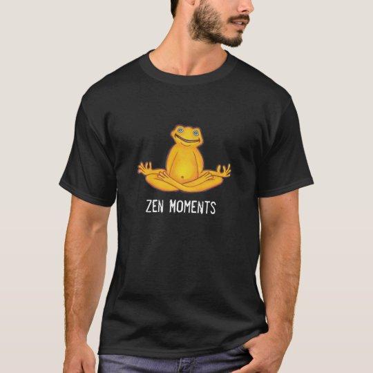 Yoga Frog - Zen Moments, Dark T-Shirt