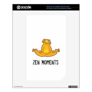 Yoga Frog -Zen Moments, NOOK color skin