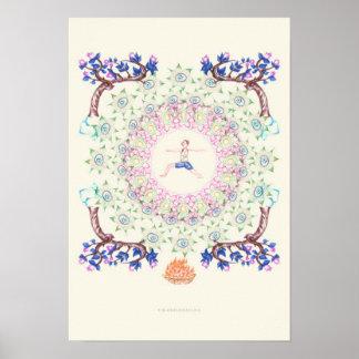 yoga Garden IV Poster