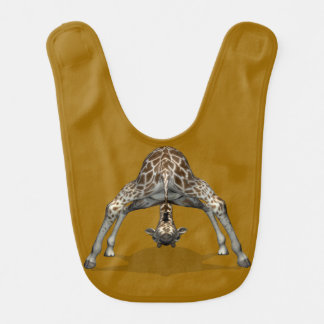 Yoga Giraffe Bib