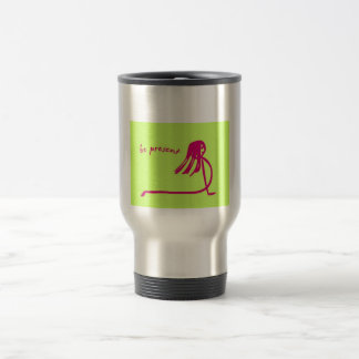 Yoga Girl Be Present coffee mug
