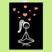 Yoga Girl Card