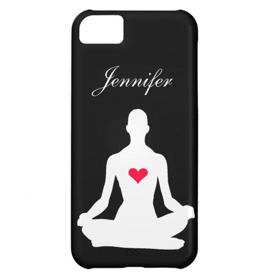 Yoga Girl iPhone 5C Case with Custom Name