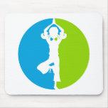 Yoga Girl Mousepad