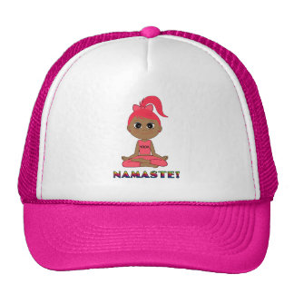 Yoga Girl: Namaste! Trucker Hat