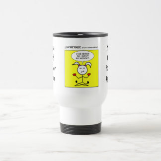 "Yoga Girl Power ""Go within"" Travel Mug"