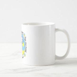 Yoga Girl Power Logo Classic White Coffee Mug