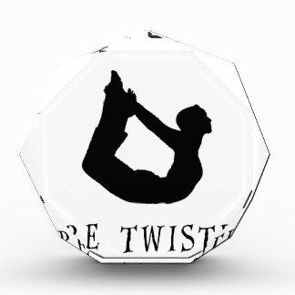 Yoga Girls Are Twisted Acrylic Award