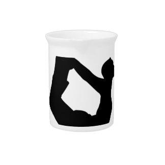 Yoga Girls Are Twisted Drink Pitcher