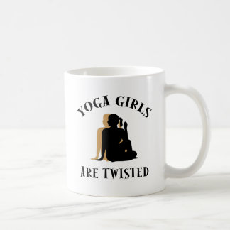 Yoga GIrls Are Twisted  Gift Coffee Mug