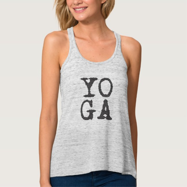 YOGA - grey - Tank top