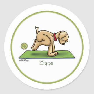 Yoga - grúa etiquetas