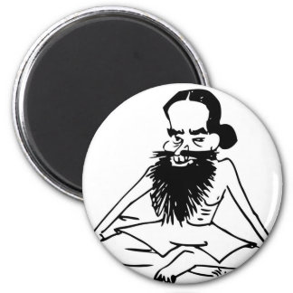 Yoga Guru 2 Inch Round Magnet