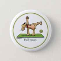 Yoga - Half Moon Button