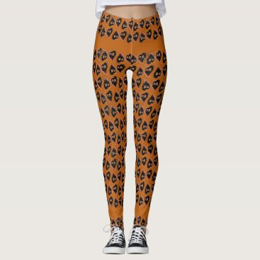 Halloween Themed Yoga Halloween Hearts Leggings