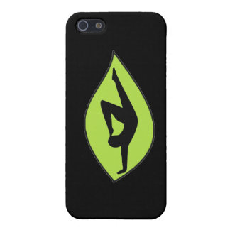 Yoga Handstand - Black iPhone Case Cover For iPhone 5