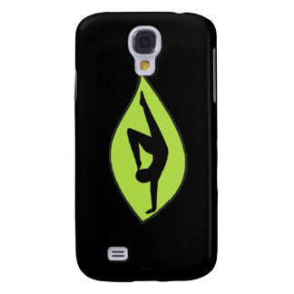 Yoga Handstand - Black iPhone Case Samsung Galaxy S4 Cases