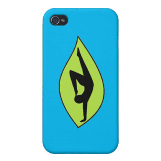 Yoga Handstand - Blue iPhone Case iPhone 4/4S Case