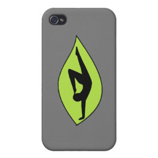 Yoga Handstand - Gray iPhone Case Cases For iPhone 4