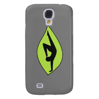 Yoga Handstand - Gray iPhone Case Galaxy S4 Cases