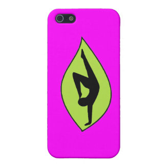 Yoga Handstand - Pink iPhone Case Covers For iPhone 5