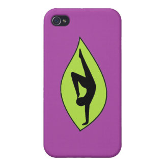 Yoga Handstand - Purple iPhone Case iPhone 4 Cover