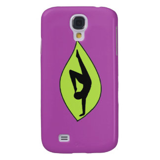 Yoga Handstand - Purple iPhone Cases