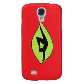 Yoga Handstand - Red iPhone Case
