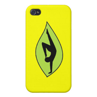 Yoga Handstand - Yellow iPhone Case