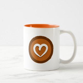 Yoga 'Heart' Mug