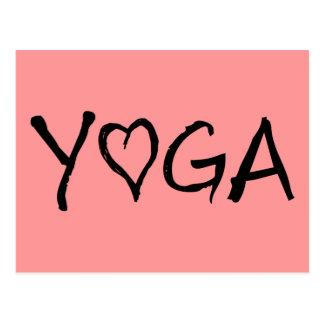 Yoga Heart Postcard